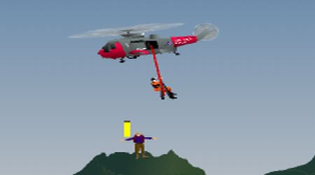 Rockface Rescue 2 Helicopter Games
